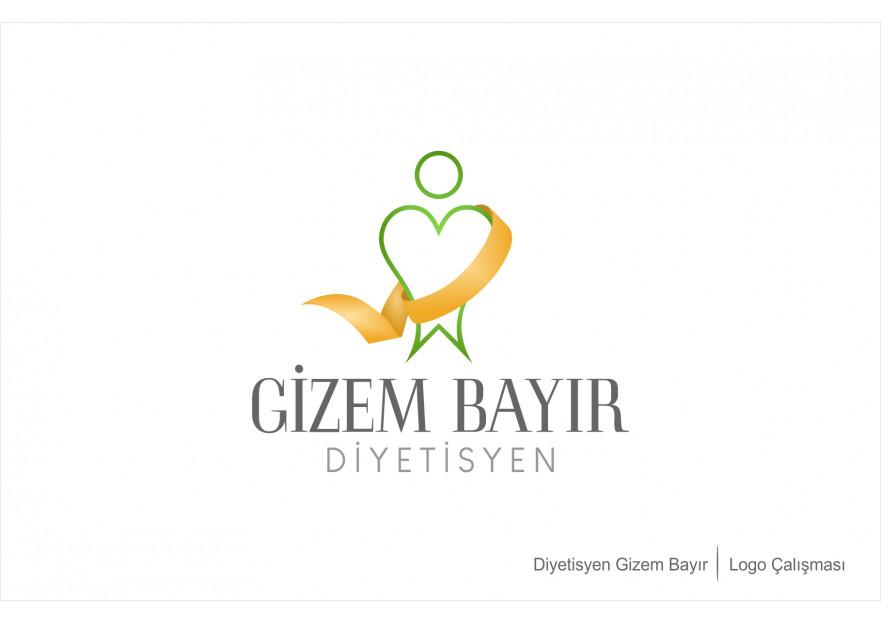 diyetisyen logosu tasarımı yarışmasına tasarımcı nslhnkr tarafından sunulan  tasarım