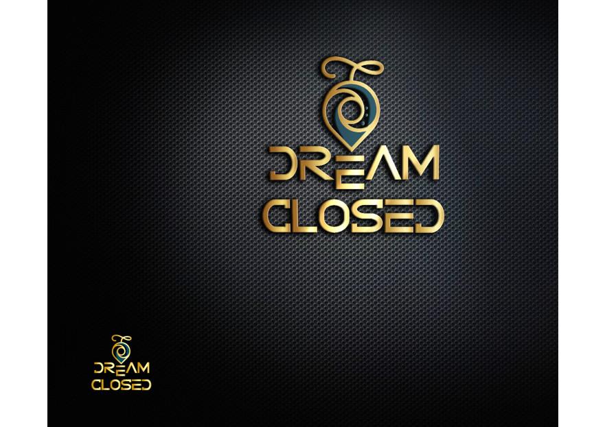 DreamCloset.net Logo yarışmasına tasarımcı rAksa tarafından sunulan  tasarım