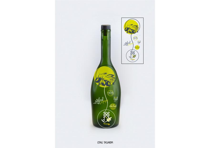 Yoresel, dogal urunler etiket tasarimi yarışmasına tasarımcı suhedayasar tarafından sunulan  tasarım