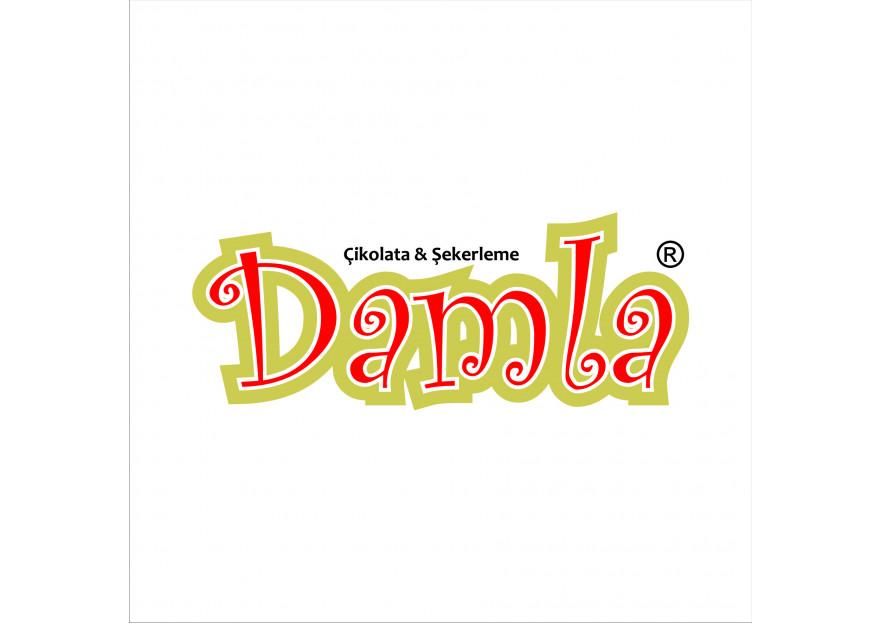 DAMLA Çikolata ve Şekerleme logo tasarım yarışmasına tasarımcı Omer_KILINC tarafından sunulan  tasarım