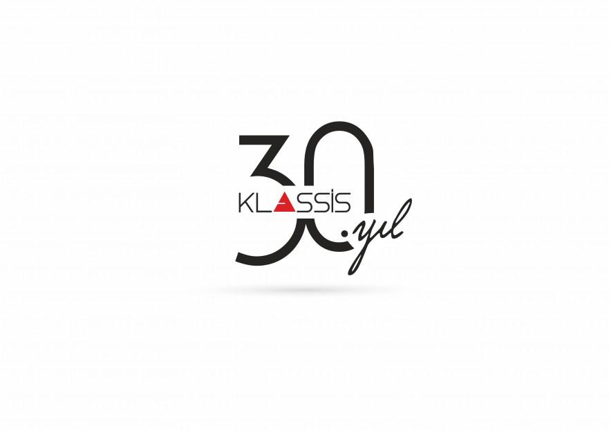 Klassis 30. Yıl Özel Logosu yarışmasına tasarımcı byCNR tarafından sunulan  tasarım