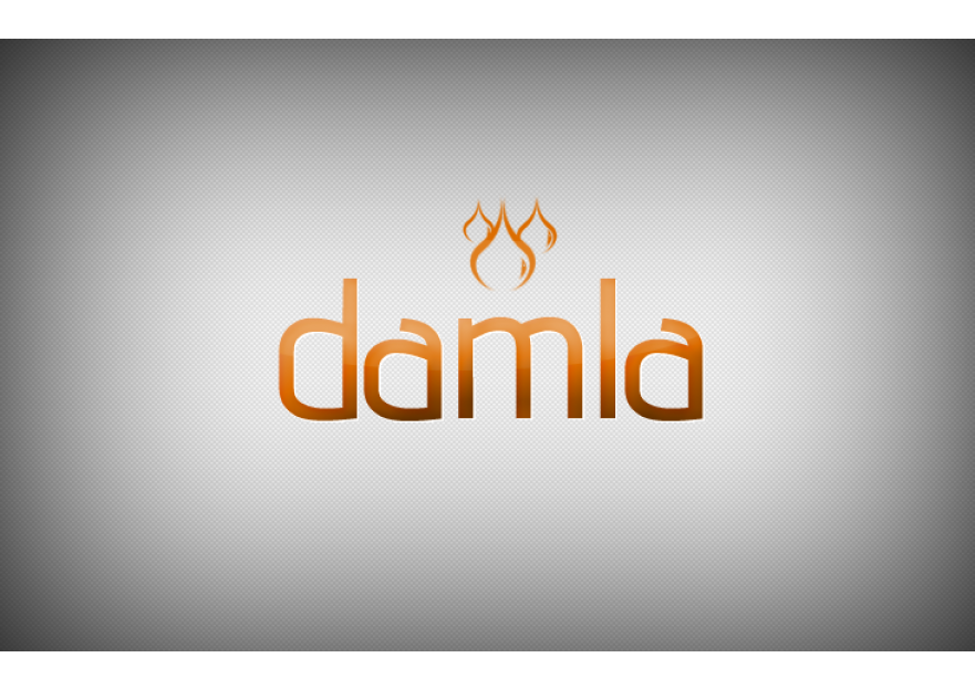 DAMLA Çikolata ve Şekerleme logo tasarım yarışmasına DirtyBlack tarafından girilen tasarım