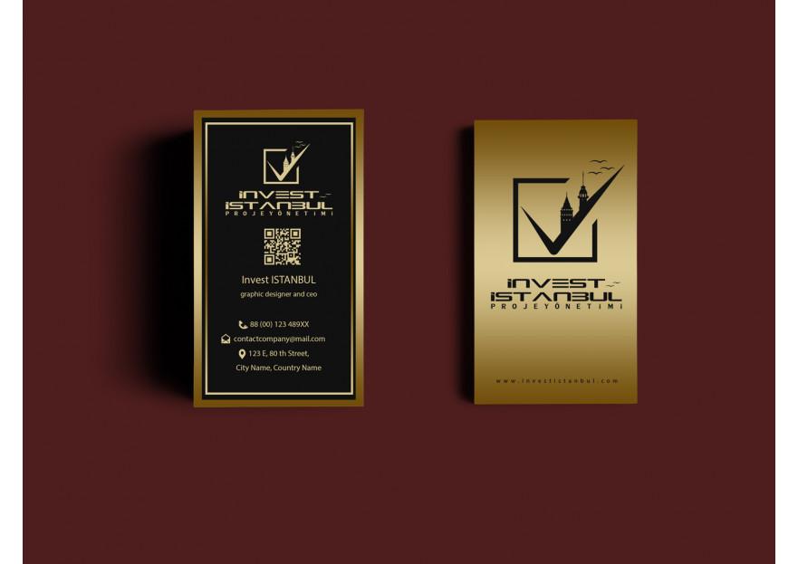 Invest Istanbul LOGO ve KURUMSAL KİMLİK yarışmasına uaslanpay tarafından girilen tasarım
