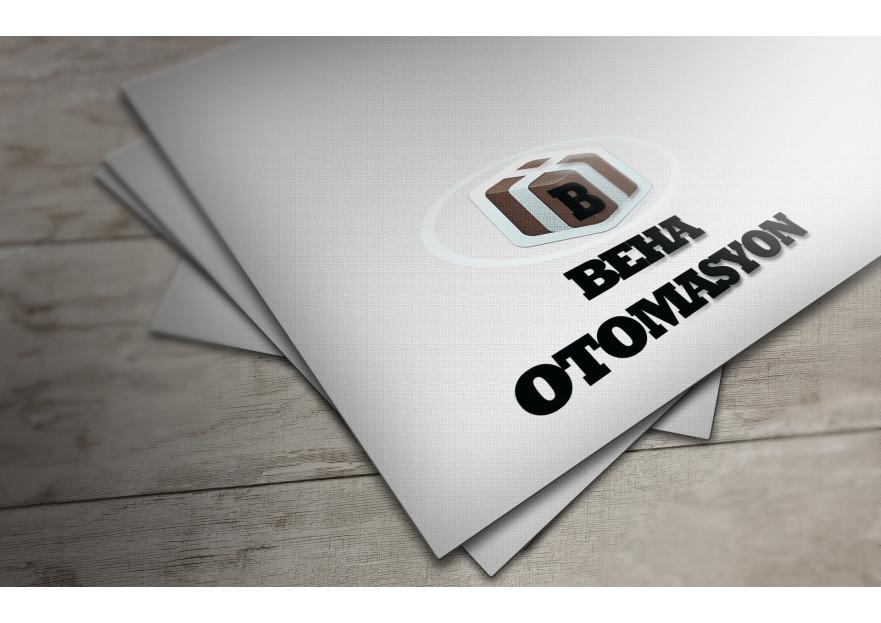 OTOMASYON FİRMASI İÇİN LOGO VE KARTVİZİT yarışmasına tasarımcı bklc tarafından sunulan  tasarım
