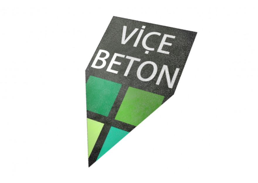 VİÇE BETON Logo Yarışması Başladı yarışmasına tasarımcı aysegulcorok tarafından sunulan  tasarım