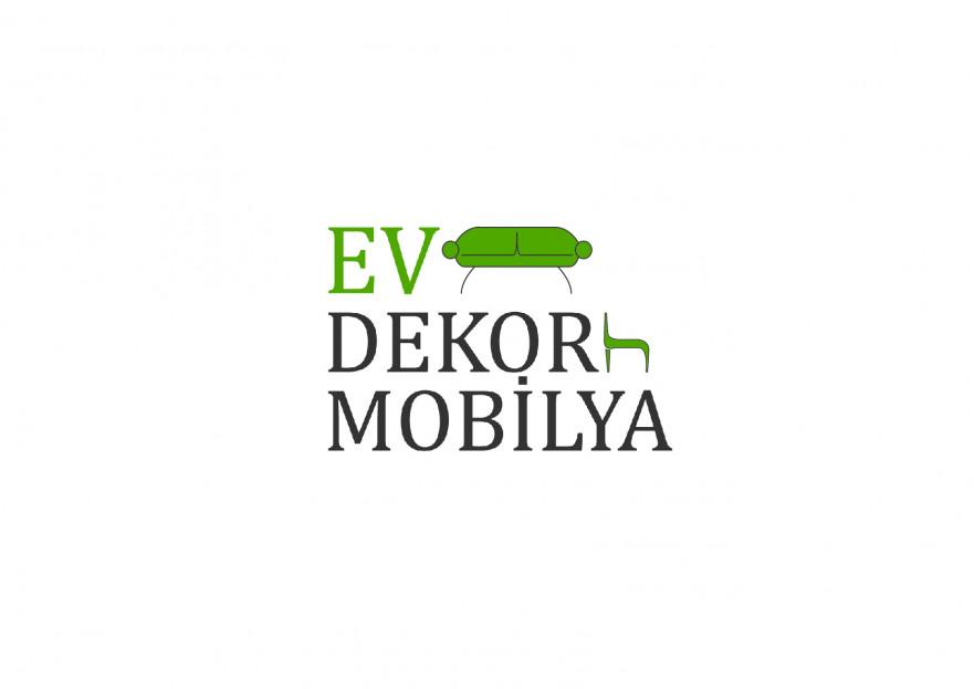 EV DEKOR MOBİLYA FİRMAMIZA YENİ LOGO  yarışmasına tasarımcı ardaustun tarafından sunulan  tasarım