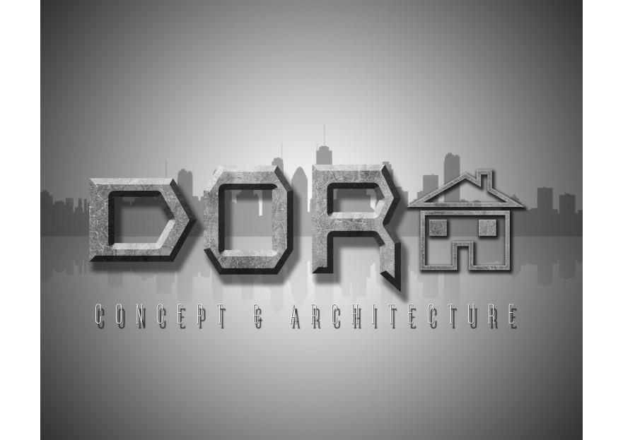 Dora Konsept Mimarlık Logosunu arıyor yarışmasına tasarımcı M.Yslygc tarafından sunulan  tasarım