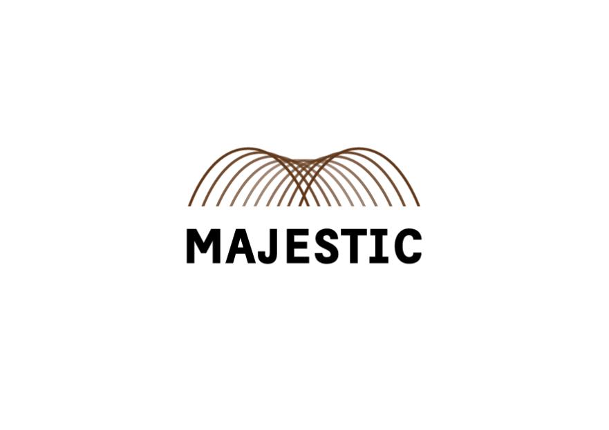 MAJESTIC HALI  Logo Tasarım yarışmasına tasarımcı pamuk® tarafından sunulan  tasarım