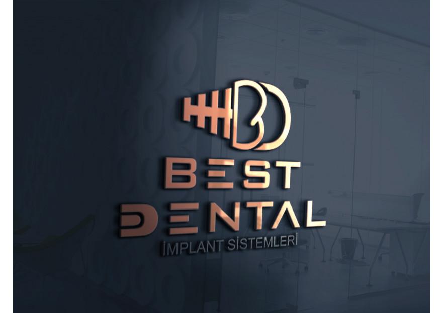 Best Dental Yeni logosunu arıyor yarışmasına tasarımcı Memo tarafından sunulan  tasarım