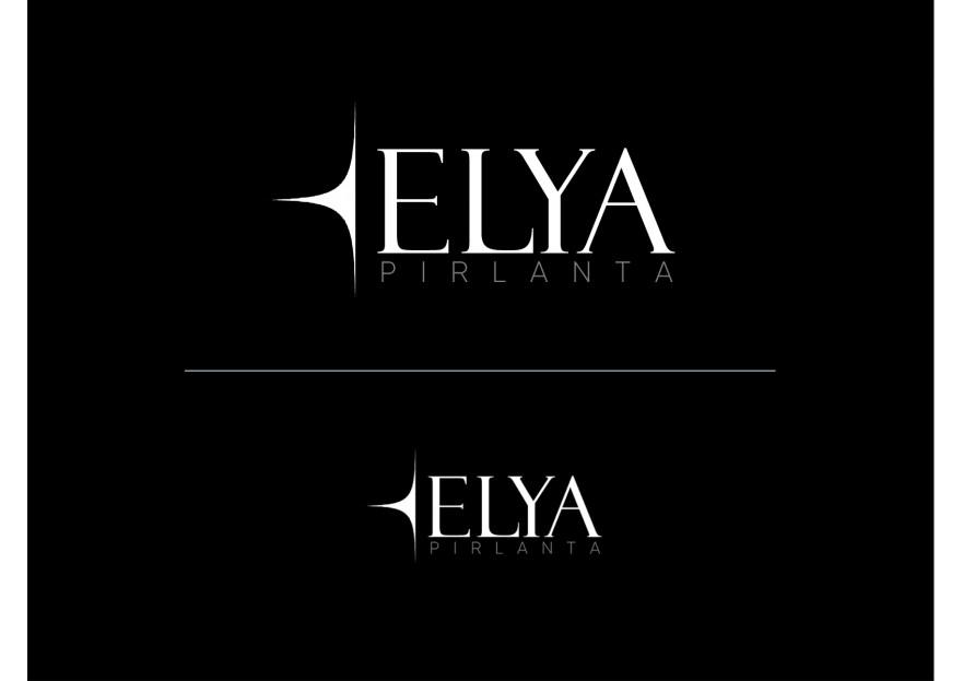 ELYA Pırlanta firması Logo tasarımı yarışmasına tasarımcı grafikodam tarafından sunulan  tasarım