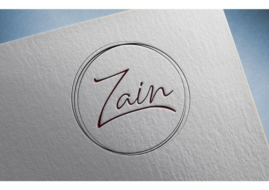 ZAIN - logo ve kurumsal kimlik tasarimi yarışmasına tasarımcı gizemsaral tarafından sunulan  tasarım