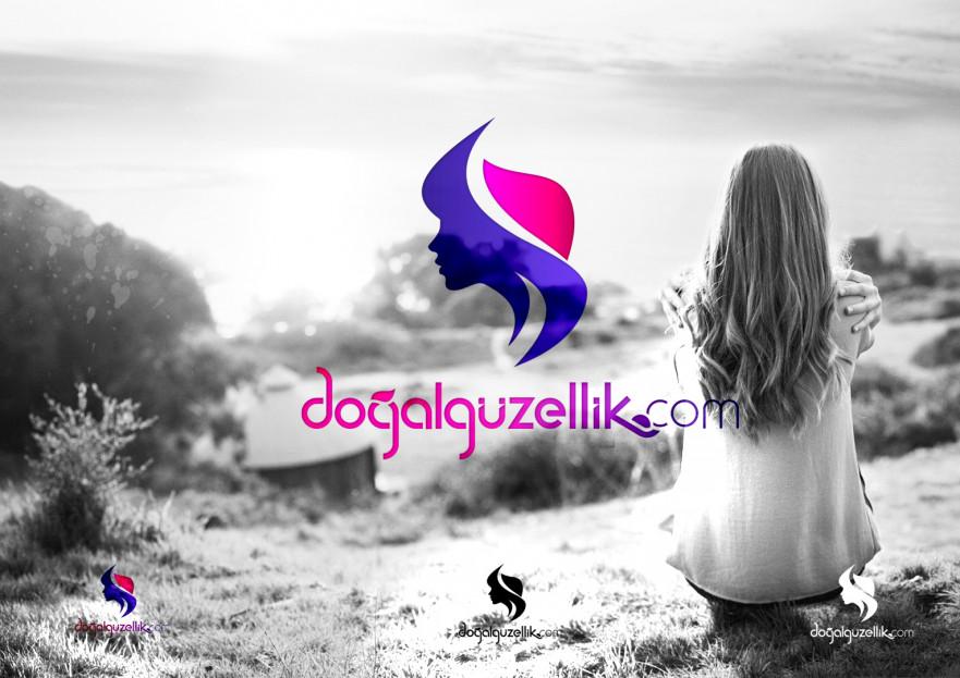 Doğalgüzellik.com alışveriş site logosu yarışmasına ESER tarafından girilen tasarım