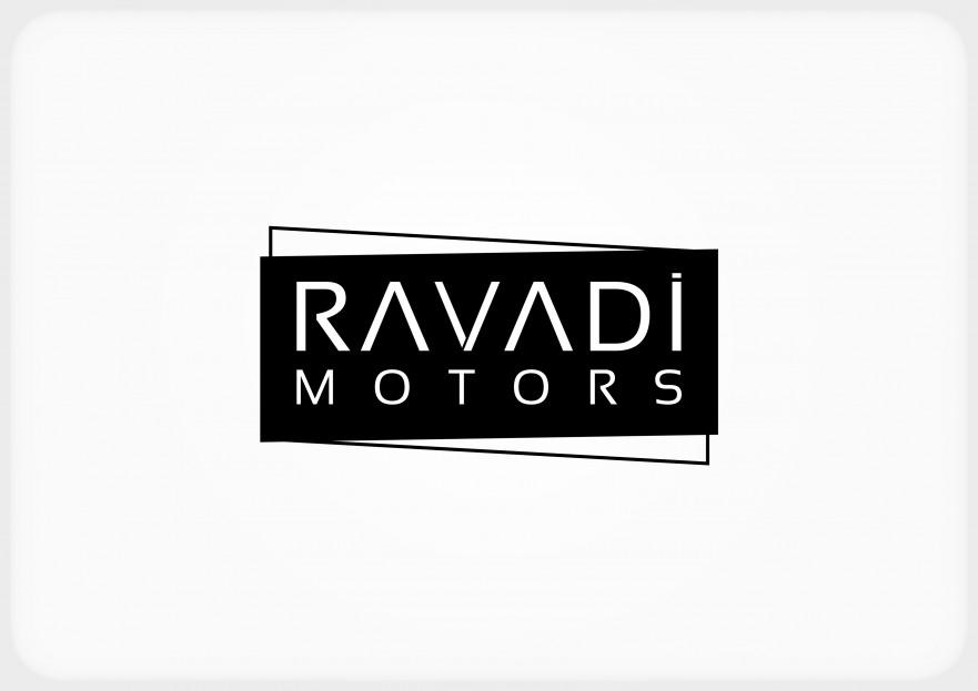 Ravadi Motors tabelası için yazı stili yarışmasına tasarımcı keyloqqer tarafından sunulan  tasarım