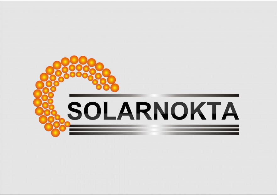 solarnokta şirketi Logo Tasarım  yarışmasına tasarımcı melih tarafından sunulan  tasarım