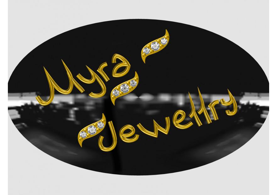 Myra Gold Kurumsal Kimlik Logosu yarışmasına tasarımcı arzu_şahinjewellry tarafından sunulan  tasarım