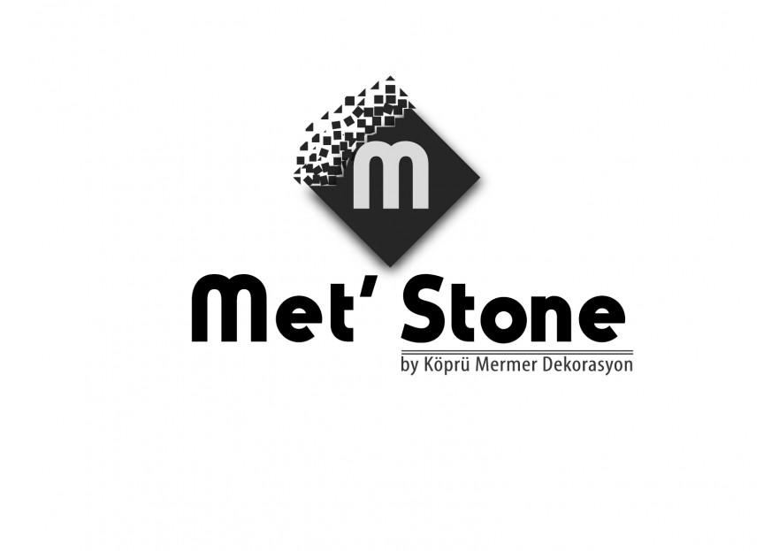 Met'Stone markası için logo tasarımı yarışmasına serd@r tarafından girilen tasarım