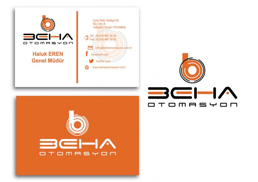 OTOMASYON FİRMASI İÇİN LOGO VE KARTVİZİT yarışmasına tasarımcı 3dfatih tarafından sunulan  tasarım