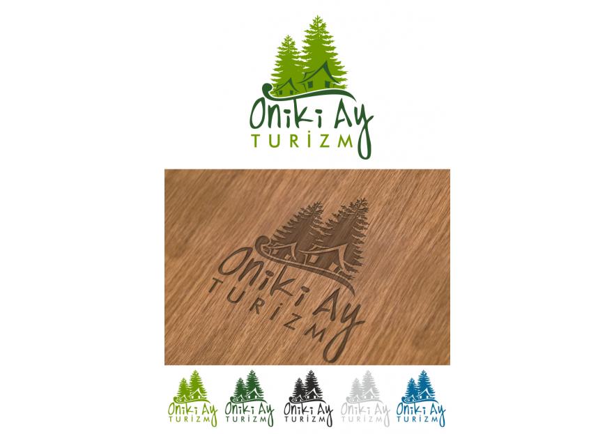 oniki ay ( 12 ay ) turizm logo çalışması yarışmasına tasarımcı tatli_cadi tarafından sunulan  tasarım