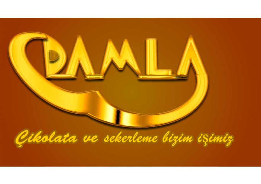 DAMLA Çikolata ve Şekerleme logo tasarım yarışmasına tasarımcı smhtksz1 tarafından sunulan  tasarım