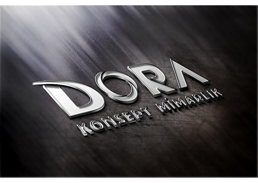 Dora Konsept Mimarlık Logosunu arıyor yarışmasına tasarımcı designing tarafından sunulan  tasarım