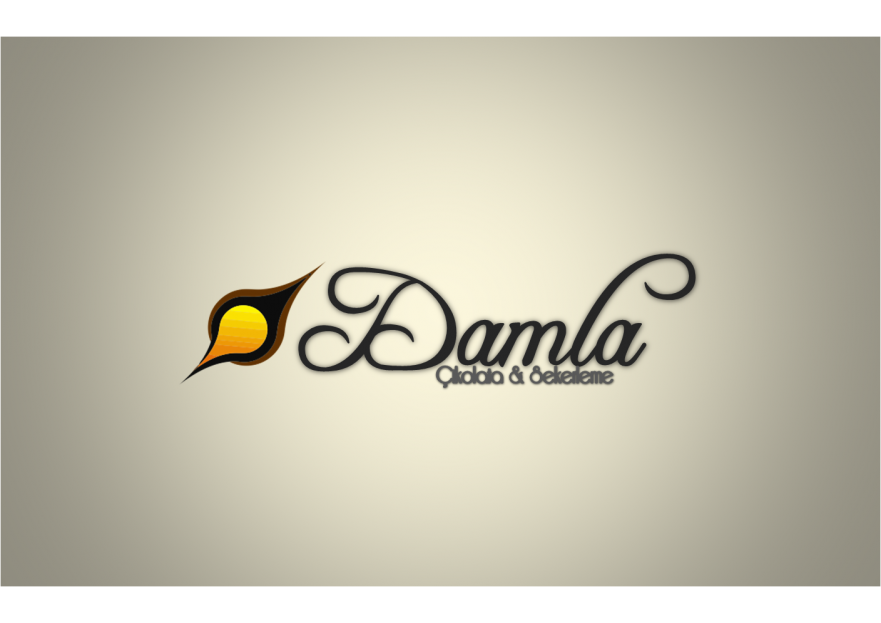 DAMLA Çikolata ve Şekerleme logo tasarım yarışmasına Neco tarafından girilen tasarım