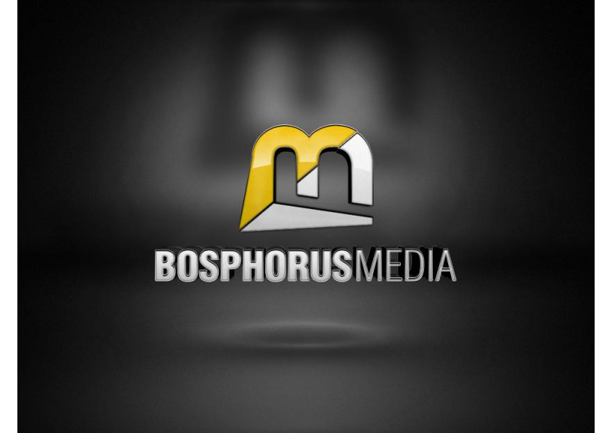 Medya Firmasına Logo Tasarımı yarışmasına E V A ® Studio tarafından girilen tasarım