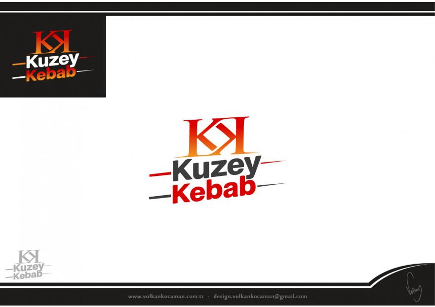 Fast food restaurant için logo tasarım  yarışmasına tasarımcı volkanKocaman tarafından sunulan  tasarım