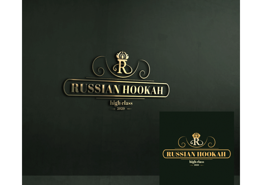 RUSSIAN HOOKAH LOGO  yarışmasına tasarımcı Designer_NB tarafından sunulan  tasarım