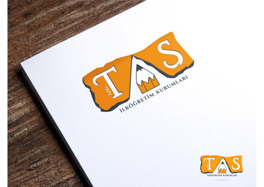 Okul Logomuzun Tasarımı yarışmasına byCNR tarafından girilen tasarım