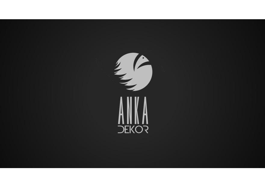 Anka Dekor için Logo ve Kurumsal Kimlik  yarışmasına Neco tarafından girilen tasarım