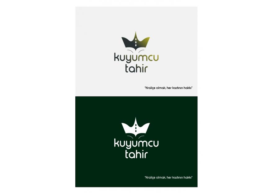 Kuyumcu Tahir -Farklı dikkat çeken logo  yarışmasına tasarımcı RED tarafından sunulan  tasarım