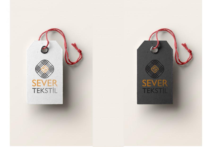 Tekstil firma logosu yarışmasına SZR Graphic Design tarafından girilen tasarım