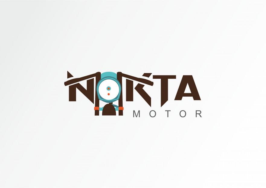 Nokta Motor logo tasarımı yarışmasına Designature7157 tarafından girilen tasarım