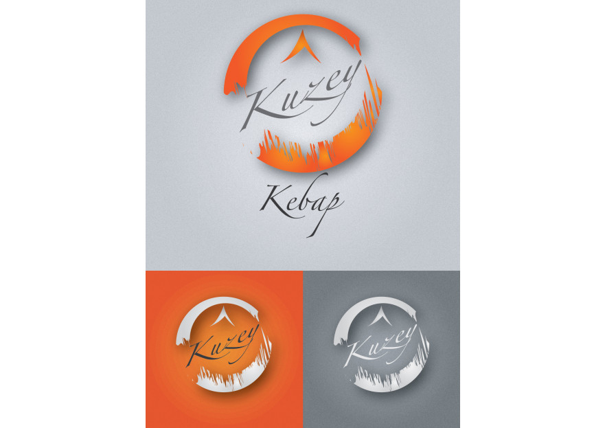 Fast food restaurant için logo tasarım  yarışmasına tasarımcı omer_o tarafından sunulan  tasarım