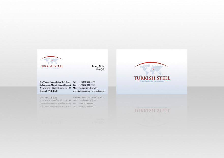 Çelik ihracatçıları birliği kurumsal  yarışmasına tasarımcı Ayes Tasarım tarafından sunulan  tasarım