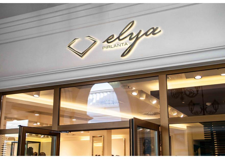 ELYA Pırlanta firması Logo tasarımı yarışmasına tasarımcı A.Güler tarafından sunulan  tasarım