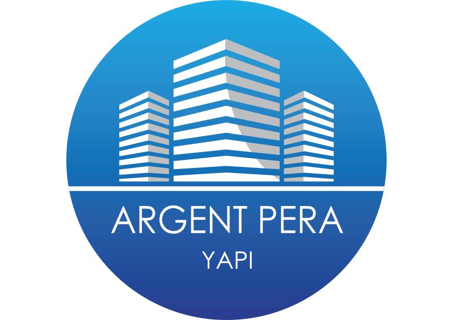 ARGENT PERA YAPI şirketine logo yarışmasına omeratesdesign tarafından girilen tasarım