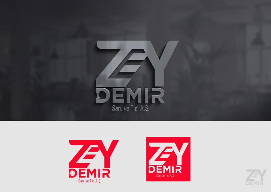 ZEY DEMİR LOGO yarışmasına tasarımcı designedbybaris tarafından sunulan  tasarım
