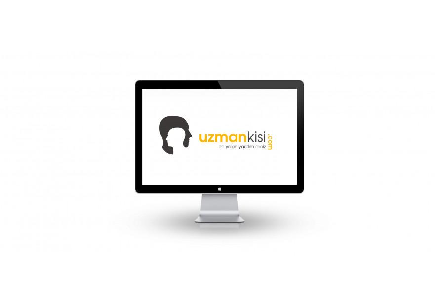 Uzman arama portalı için logo çalışması yarışmasına tasarımcı AyEs tarafından sunulan  tasarım