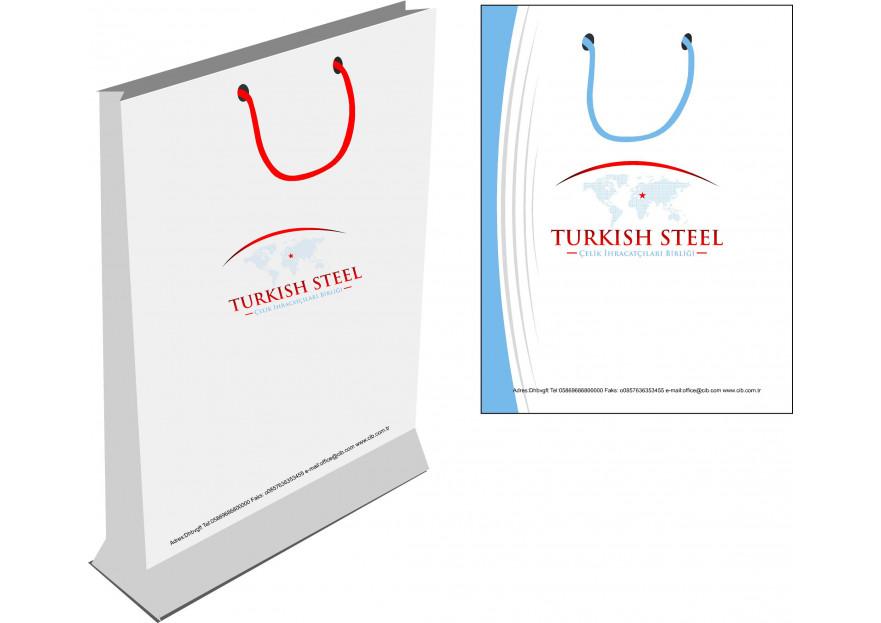 Çelik ihracatçıları birliği kurumsal  yarışmasına tasarımcı zehra tarafından sunulan  tasarım