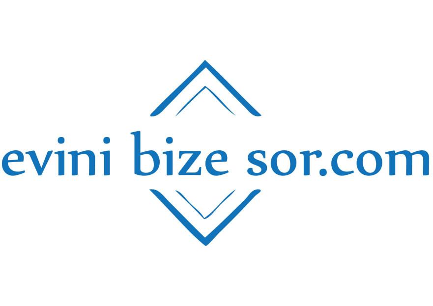 EviniBizeSor Projemiz için Logo yarışmasına tasarımcı pnr_vrgn tarafından sunulan  tasarım