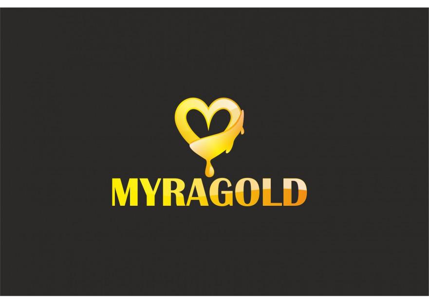 Myra Gold Kurumsal Kimlik Logosu yarışmasına tasarımcı Muss tarafından sunulan  tasarım