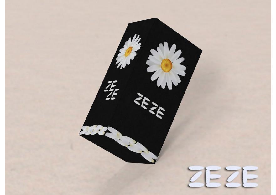 Zeze parfüm ve kozmetik ürünler markası yarışmasına Sihir tarafından girilen tasarım
