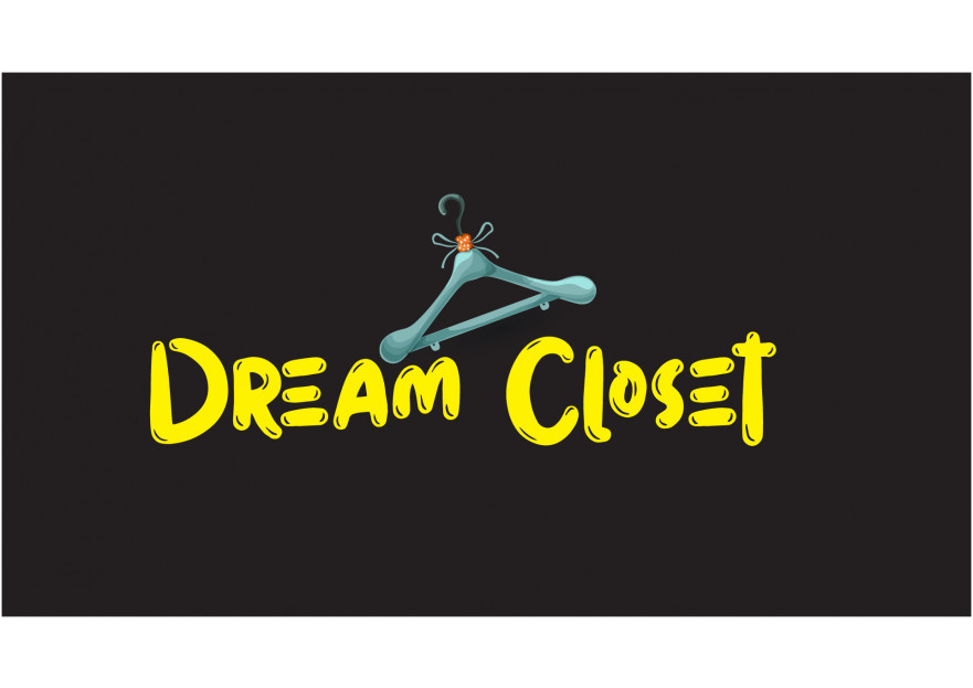 DreamCloset.net Logo yarışmasına tasarımcı candemirel tarafından sunulan  tasarım