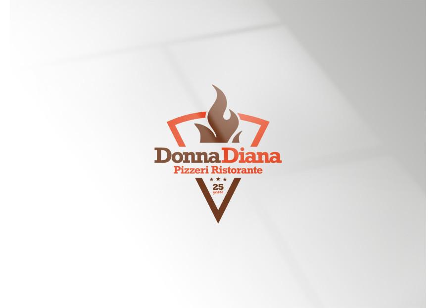 pizza restoranim icin logo tasarimi yarışmasına tasarımcı Lucas Newmoon tarafından sunulan  tasarım