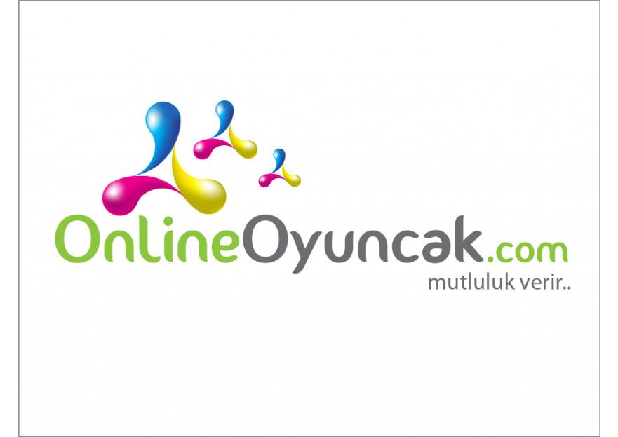 OnlineOyuncak.com Logo Tasarımı. yarışmasına tasarımcı volkanKocaman tarafından sunulan  tasarım