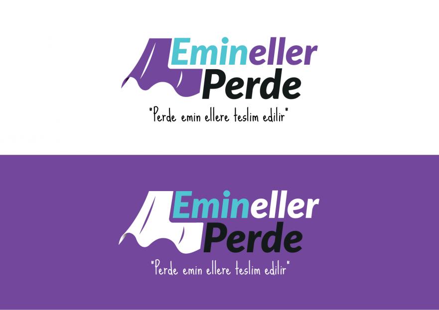 Emin Eller Perde Logo Yarışması yarışmasına tasarımcı Atakan Şahin tarafından sunulan  tasarım