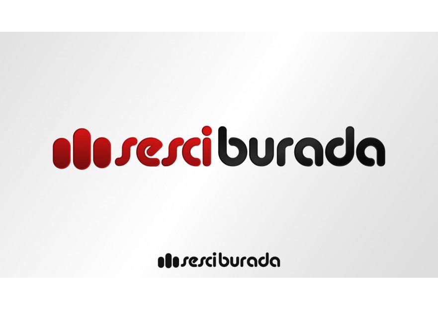 Sesciburada E-Ticaret sistemiz için logo yarışmasına tasarımcı comlektegrafik tarafından sunulan  tasarım