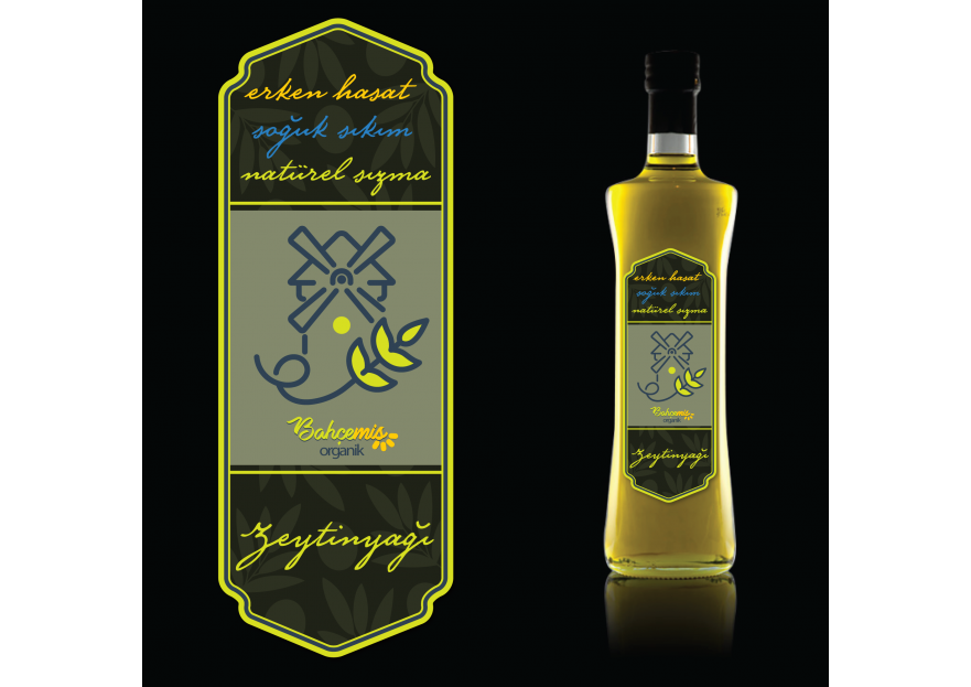 Yoresel, dogal urunler etiket tasarimi yarışmasına tasarımcı zumruduanka tarafından sunulan  tasarım