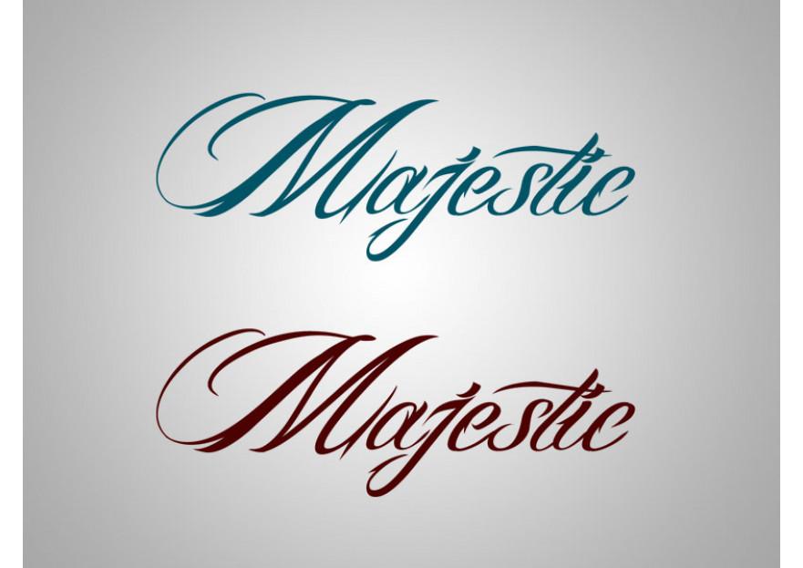 MAJESTIC HALI  Logo Tasarım yarışmasına muratkatarci tarafından girilen tasarım